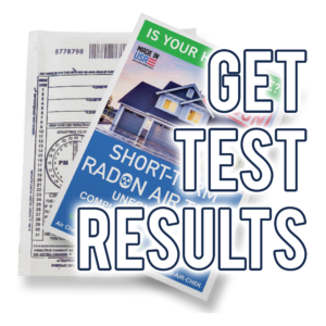 click to get your test results